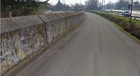 Via Tassinari | Muro Palestra UrbanizeMe