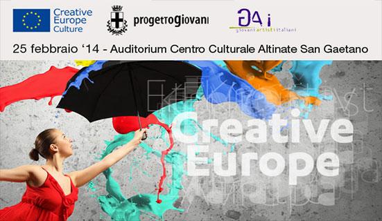 Infoday sul Sottoprogramma Cultura di Europa Creativa