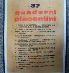 17. Quaderni piacentini