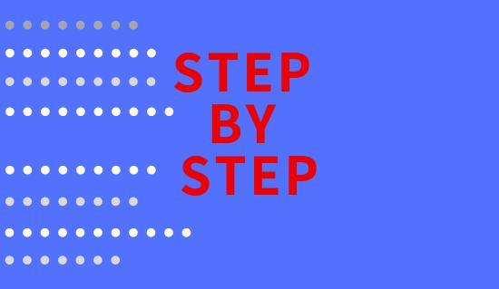 step by step 2019