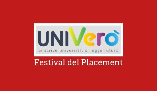 prezzo limitato bello economico come acquistare Univerò 2019 - festival del placement   Progetto Giovani Padova